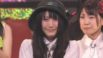 Matsui Rena (SKE48) - Kareha no Station + Akimoto Yasushi surprise