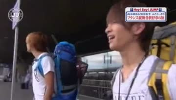 J'J Hey! Say! Jump in France EP1 Part [1/5]