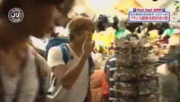 J'J Hey! Say! Jump in France EP1 Part [3/5]