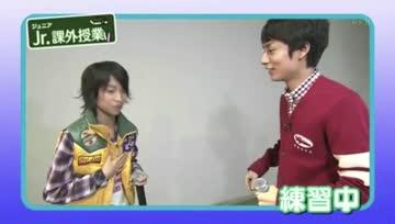 [KAT-TUN] Nakamaru teaches Juri Tanaka How to beatbox