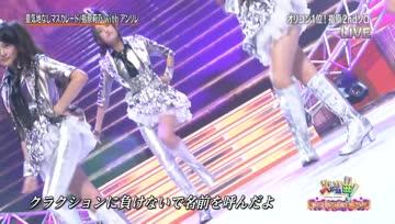 Sashihara Rino with AnRiRe - Ikuji Nashi Masquerade 2012-10-30 KAYOU-KYOKU