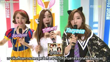 [ซับไทย]121027 ShowMusicCore MC [by LittleBean]