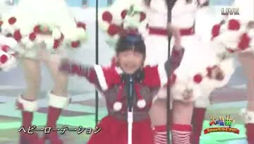 121225 MANA x AKB48 - Heavy Rotation (Xmas ver.)