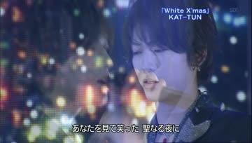[Live]BestArtist2008 -  [KAT-TUN - White Xmas]