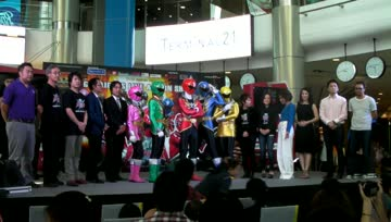 งานแถลงข่าว Gokaiger Live Action Show In Bangkok
