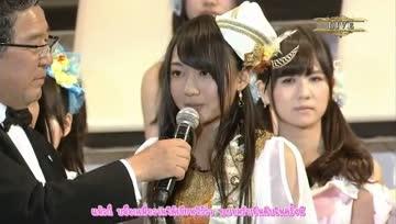 [SubThai ] AKB48 32nd Single Election Selection อันดับที่ 22  Kizaki Yuria (Team S)