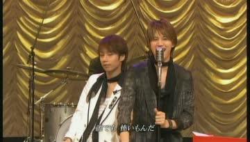 [TV] 20080518 shounen club - KAT-TUN live SHOT! (4m09s)