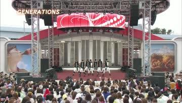 GENERATIONS - Mezamashi Live 2013 #7 (FujiTV NEXT)(2013.07.31)