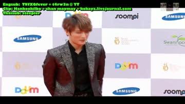 [Thaisub] 130905 Seoul International Drama Awards 2013 - Yunho & Jaejoong CUT
