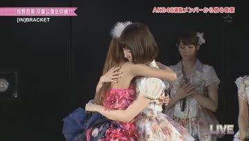 [Thai sub][AKB48] Chinparu's speech on tomochin graduation stage.