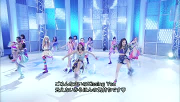 E-girls - ごめんなさいのKissing You(Music Fair 2013.09.21)