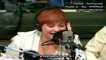 [THAISUB]EXO-Xiumin Free Style Rap @Shimshimtapa