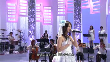 131012 Kashiwagi Yuki - Happy Wedding (MUSIC FAIR)