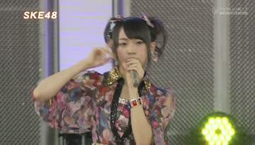 130826 SKE48 Odaiba Gasshukoku Mezamashi Live 2013 - Kataomoi Finally