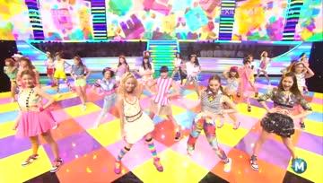 [Live] E-girls - Gomenasai no Kissing You @ MUSIC STATION 2013.10.18