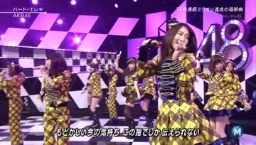 AKB48 _ Heart Eleki・ MUSIC STATION 2013-11-01