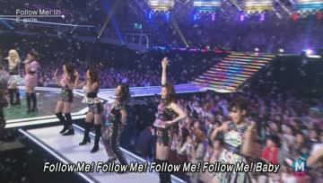 [Live] E-girls - Follow Me / Gomenasai no Kissing You @ MUSIC STATION SUPER LIVE 131227