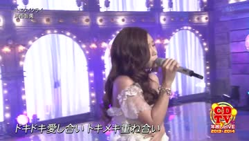 Kasai Tomomi @CDTV 2014-01-01
