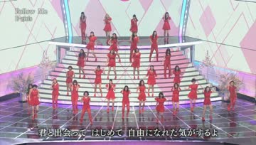 [Talk+Live] E-girls - Follow Me / Gomenasai no Kissing You @ 64th NHK Kohaku Uta Gassen 131231