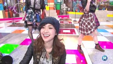 140205 AKB48 - Talk & Mae Shika Mukanee @ Music Station