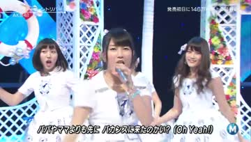 AKB48 - Labrador Retriever @ MUSIC STATION 140523