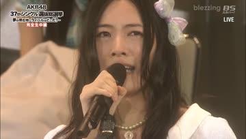 [blezzing] Matsui Jurina's Speech in 6th General Election - จูรินะสปีชเลือกตั้งครั้งที่ 6