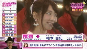 [PSPP] Kashiwagi Yuki - 6th AKB48 Senbatsu Election [TH-Sub]