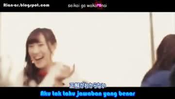 [RIAN-Ardiansyah][PV] AKB48 Kimi No Uso wo Shiteita (Subtitle Indonesia).mkv