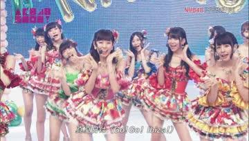 140809 AKB48 SHOW! - NMB48 - Ibiza Girl