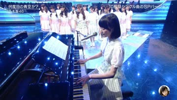 乃木坂46「Nandome no Aozora ka?」@ MUSIC STATION 2014.10.17